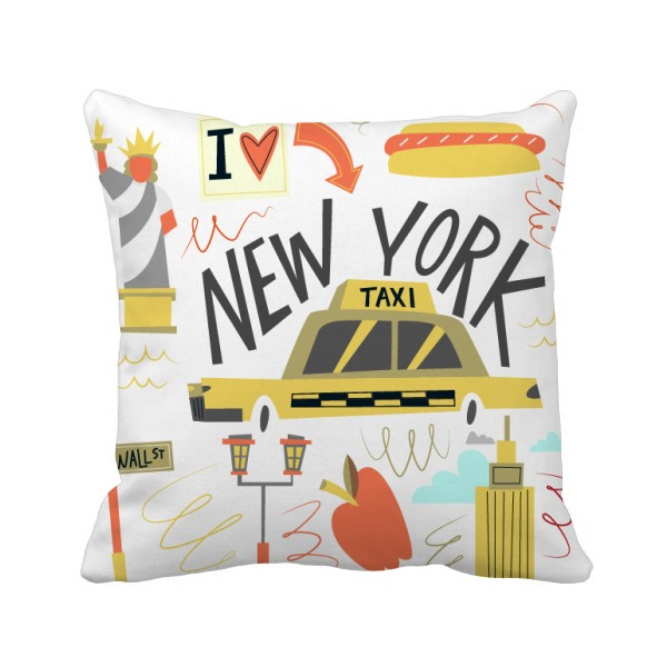 DIYthinker letters cotton linen throw pillow case square waist sofa bed cushion cover home decor