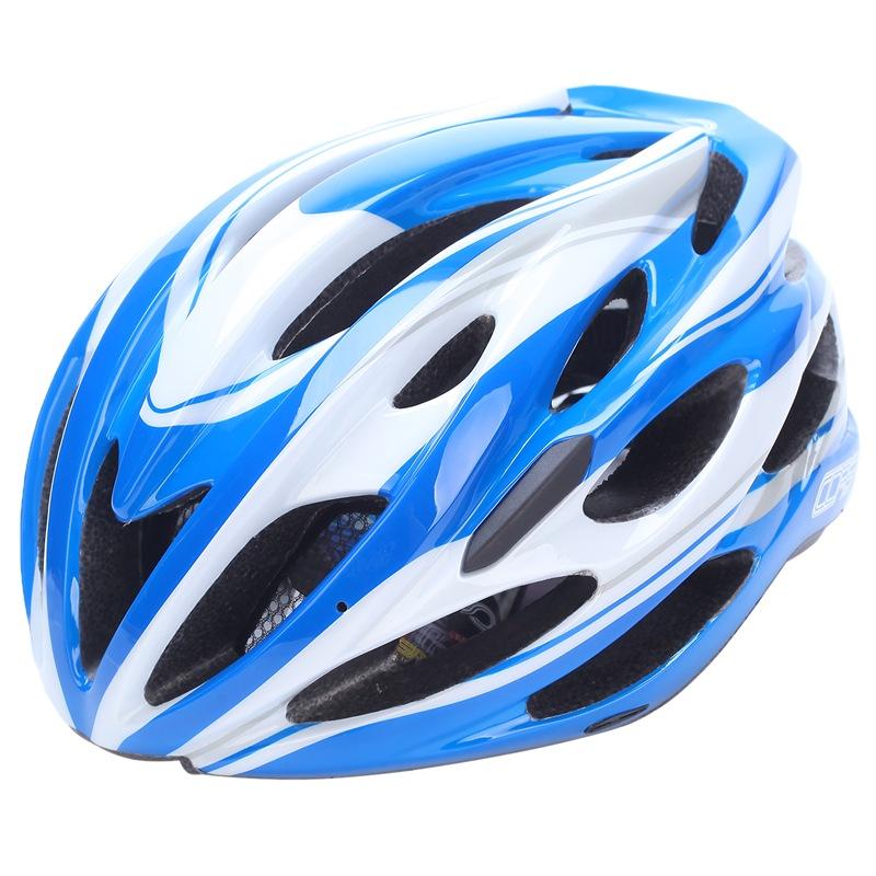 JD Коллекция Синий и белый велосипедный шлем