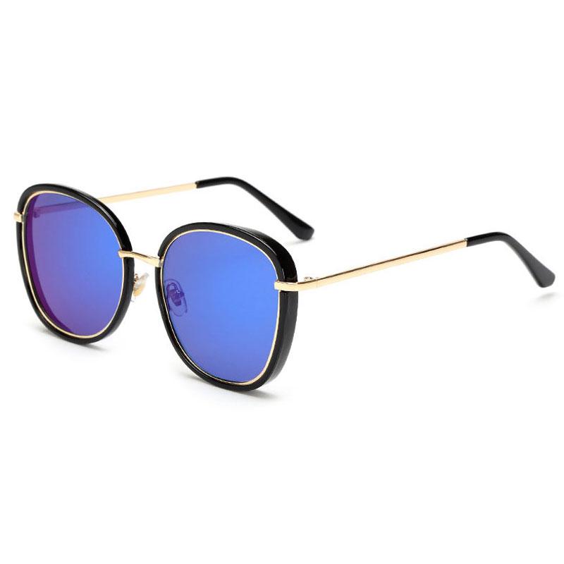 LIKEU S NO5 Black &amp Модные солнцезащитные очки Солнцезащитные очки Oversiz