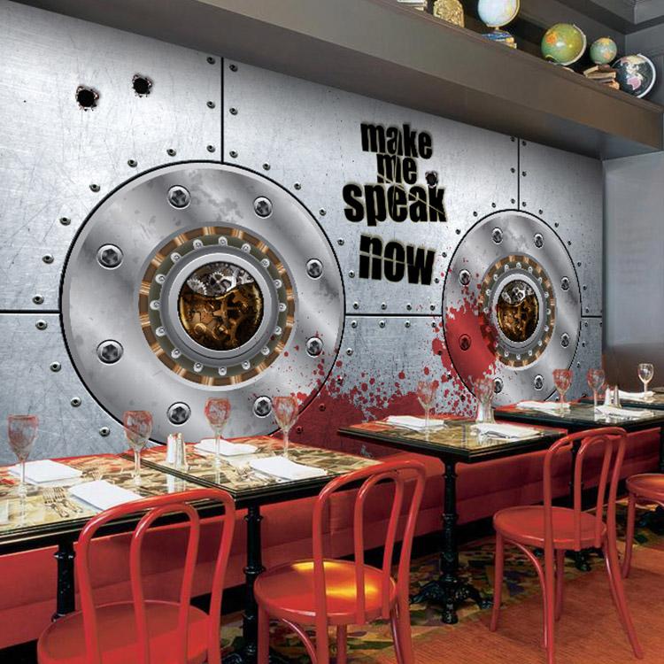 Colomac White фото обои 3d металлическая сталь обои листовая сталь машины промышленные обои ktv бар ресторан кофейня фреска