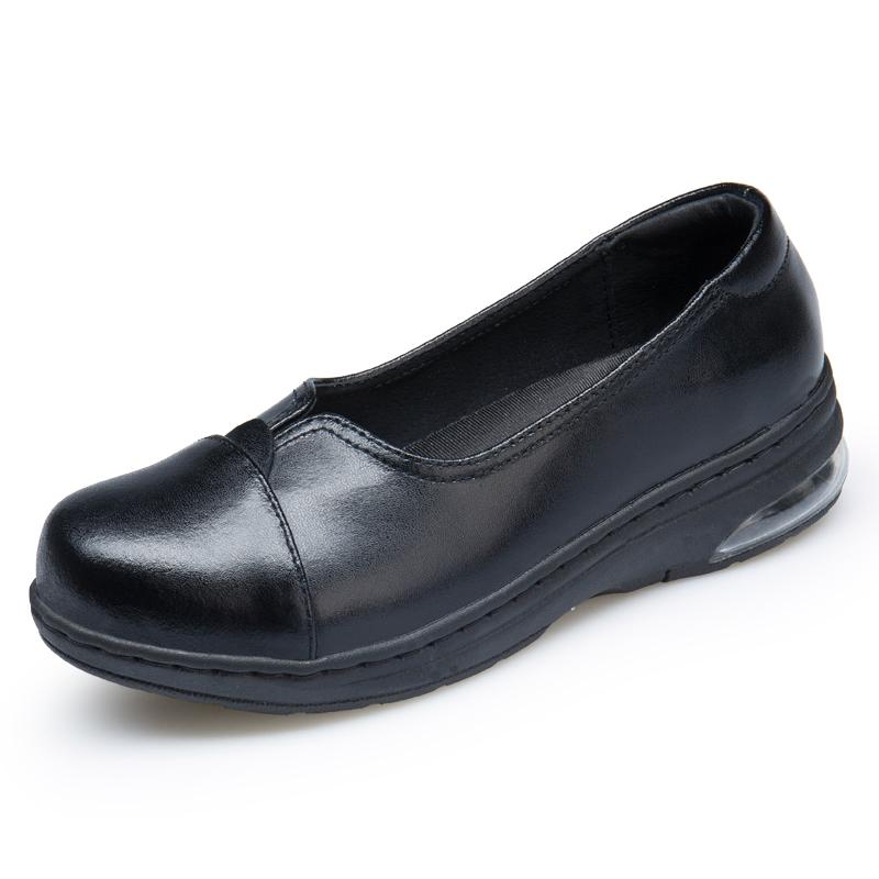WOBAILE черный 65 сестра туфли туфли xiaobai противоскользящий мягкий дно белый спецобуви пар обуви одной маме туфли