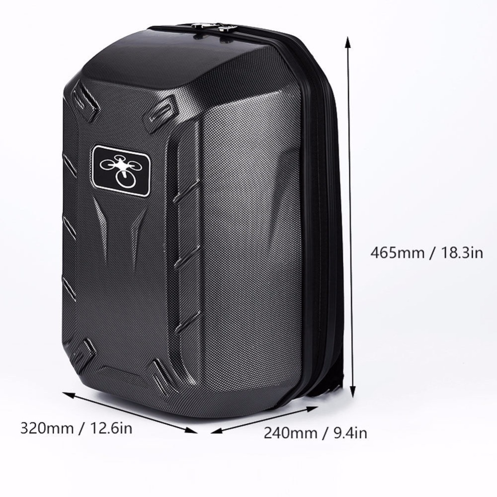 start data new best price waterproof backpack bag shoulder hard shell case box for dji phantom 3 quadcopter top quality mar23