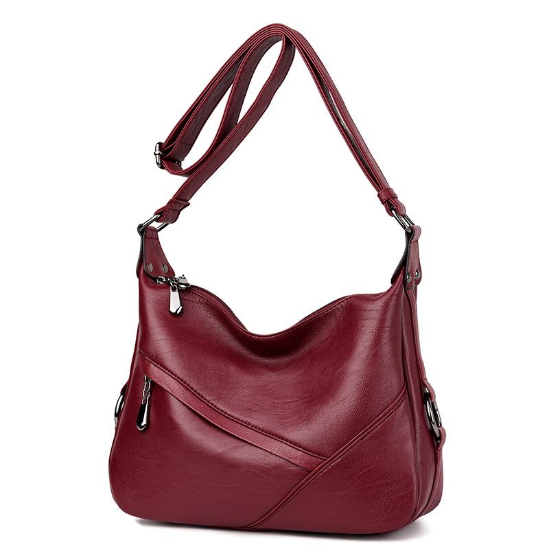 Leaderpal Бордовый S женские сумки