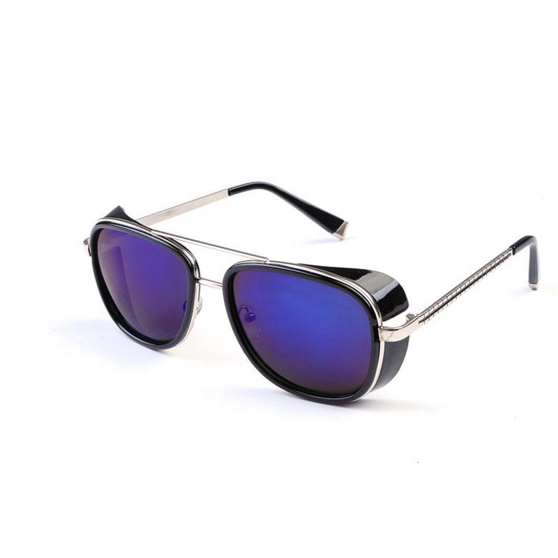 LIKEU S NO5 Black &amp Классические солнцезащитные очки Steampunk