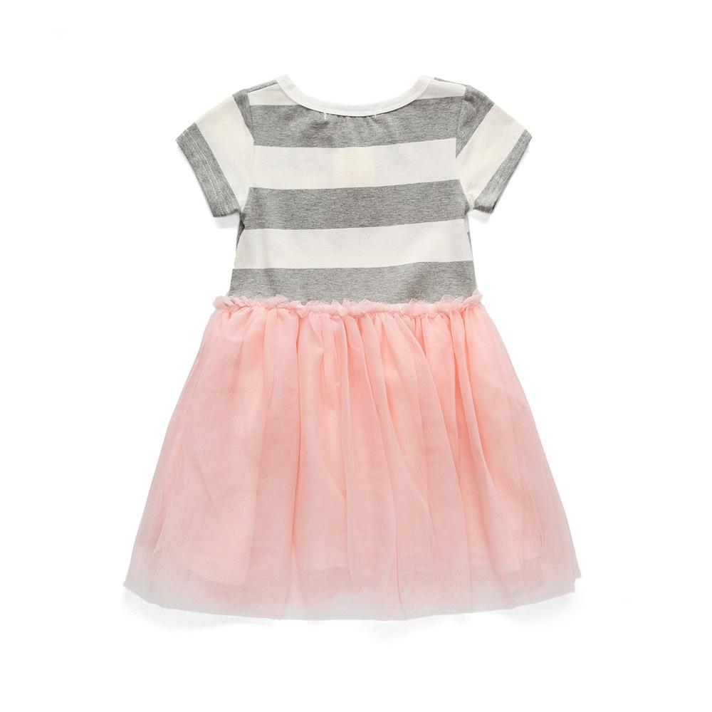 Платье для девочек GHFTTY розовый 6T фото