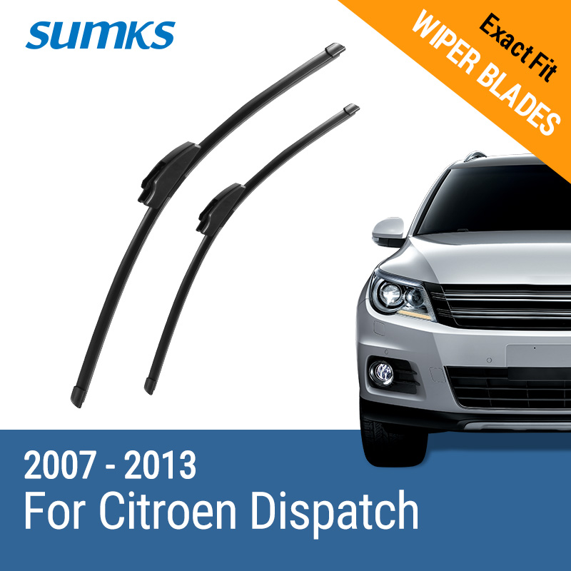 SUMKS wiper blades for ford galaxy 28
