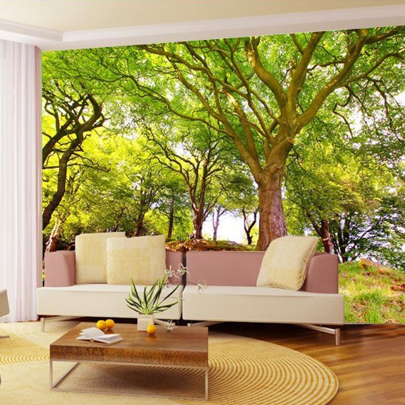 Colomac Смешанный цвет пользовательские 3d обои для фото пещера природа ландшафт тв фон настенная роспись обои для гостиной спальня фон арт декор