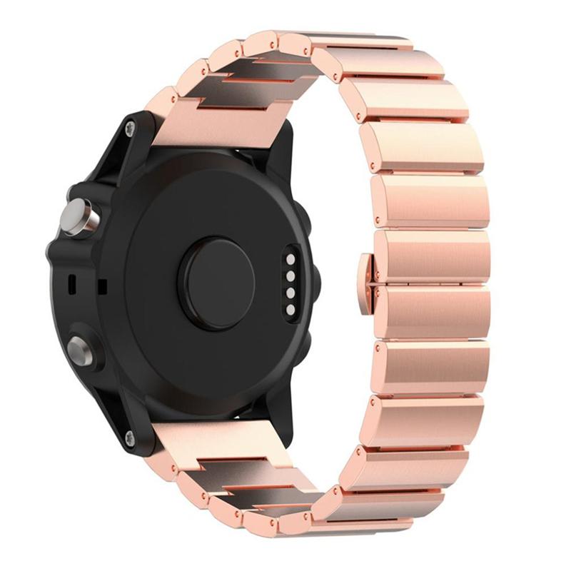 PINSENDA розового золота garmin fenix chronos steel