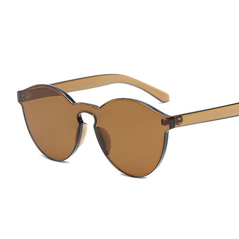 LIKEU S NO2 Чай Круглый солнцезащитные очки для девочек colorexclusive sungl 001