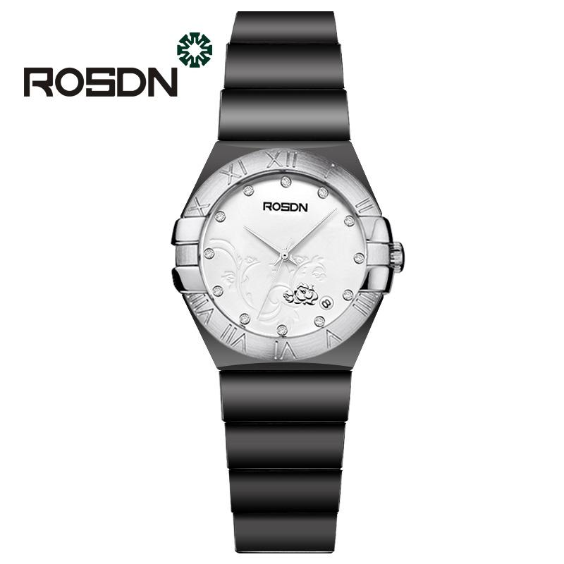 ROSDN Black 2017 мода yazole часы женские наручные часы женские наручные часы женские уникальные часы элегантные кварцевые часы