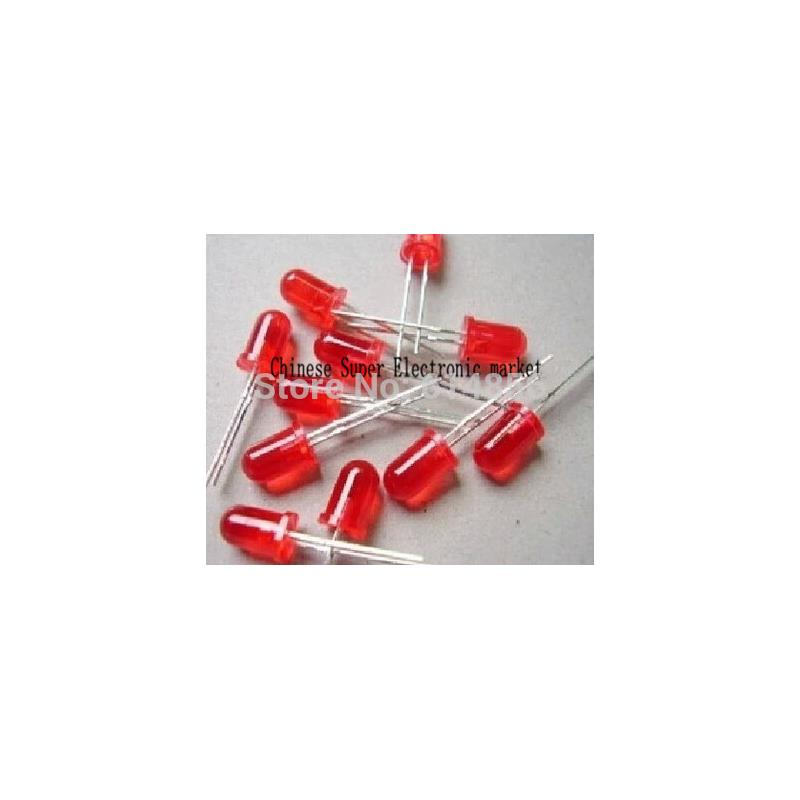 IC 5mm led diodes red yellow multicolored 40 pcs