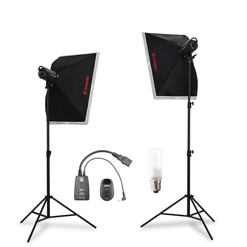 JD Коллекция Default дефолт godox 250 studio flash set softbox photographic equipment