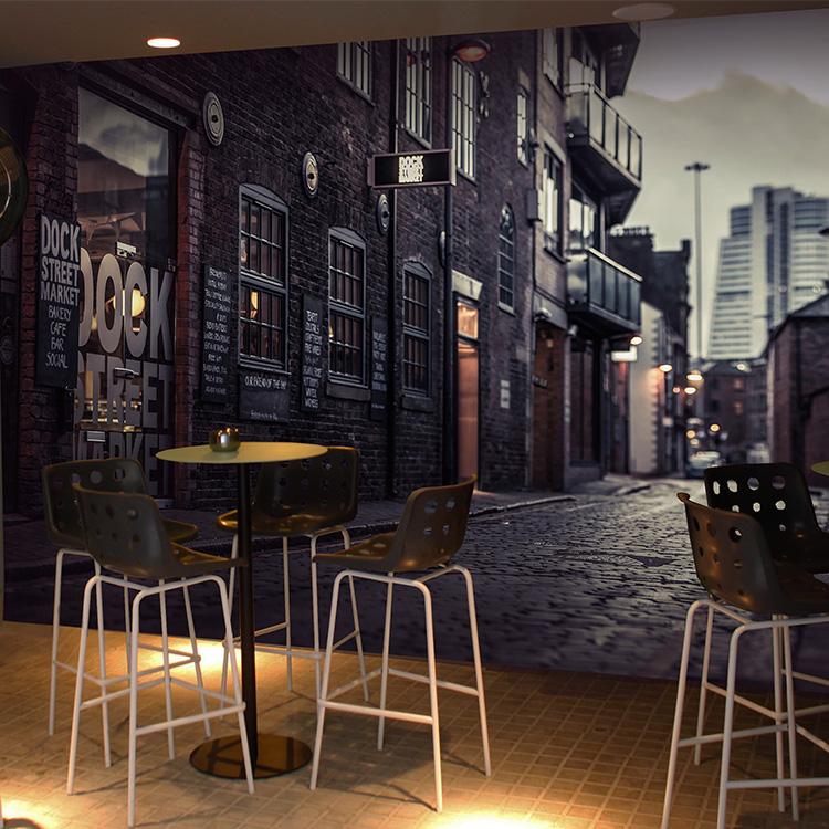 Colomac Смешанный цвет фото обои 3d металлическая сталь обои листовая сталь машины промышленные обои ktv бар ресторан кофейня фреска