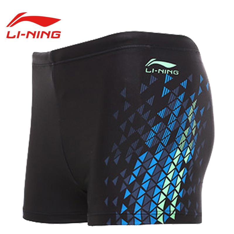 LI-NING LSSL123-1 Черный L li ning li ning плавки мужские плавательные кепки плавательные очки свободные плавки стволы полноценный спа klein купальники один lssl123 черный l