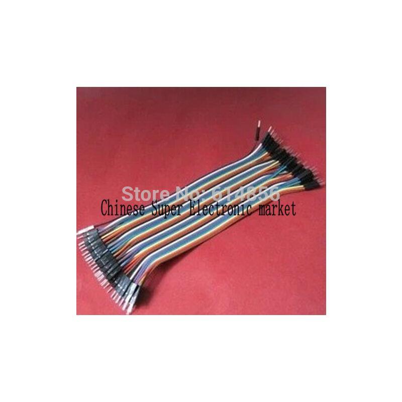 IC 370pcs dupont jumper pin header mayitr cable wire crimp connector terminals housing kit 1 2 3 4 5 6 pins