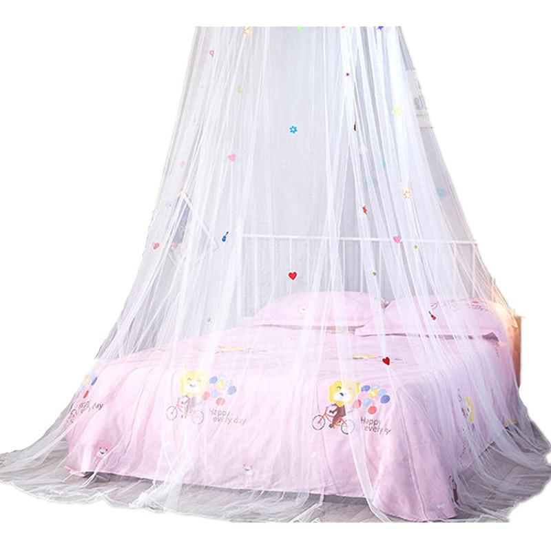 suwumu Белый цвет москитная сетка открытие потолочного купола круглый симпатичный студент принцесса