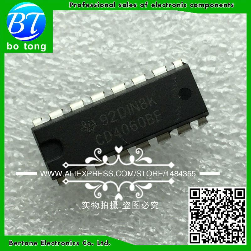 IC 5pcs cd4060be cd4060 dip 16