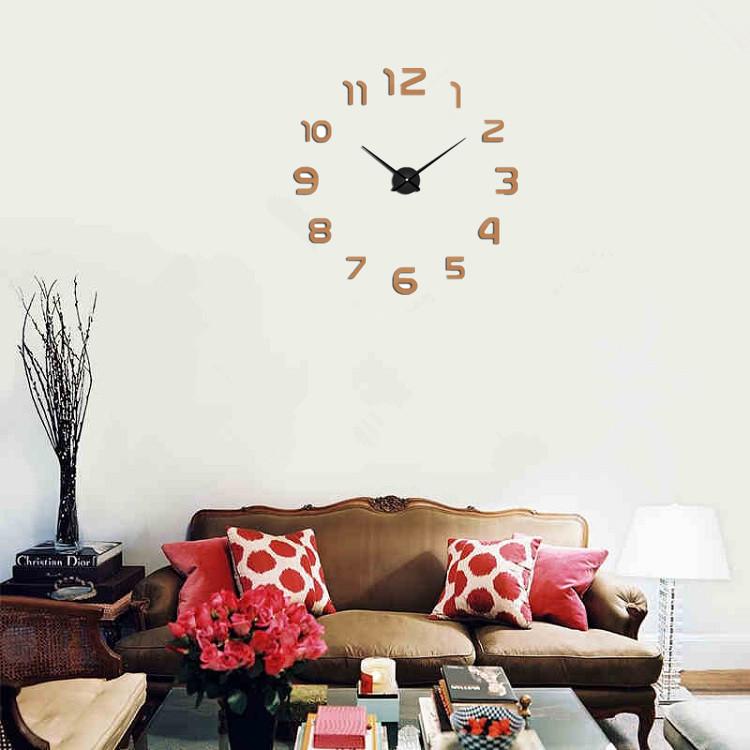 suwumu Коричневый цвет часы настенные proffi home корица