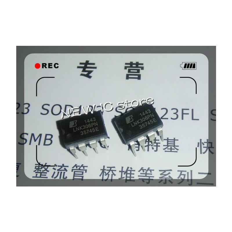 IC free shipping 20pcs lot lnk306pn lnk306 dip7 dip 8 new