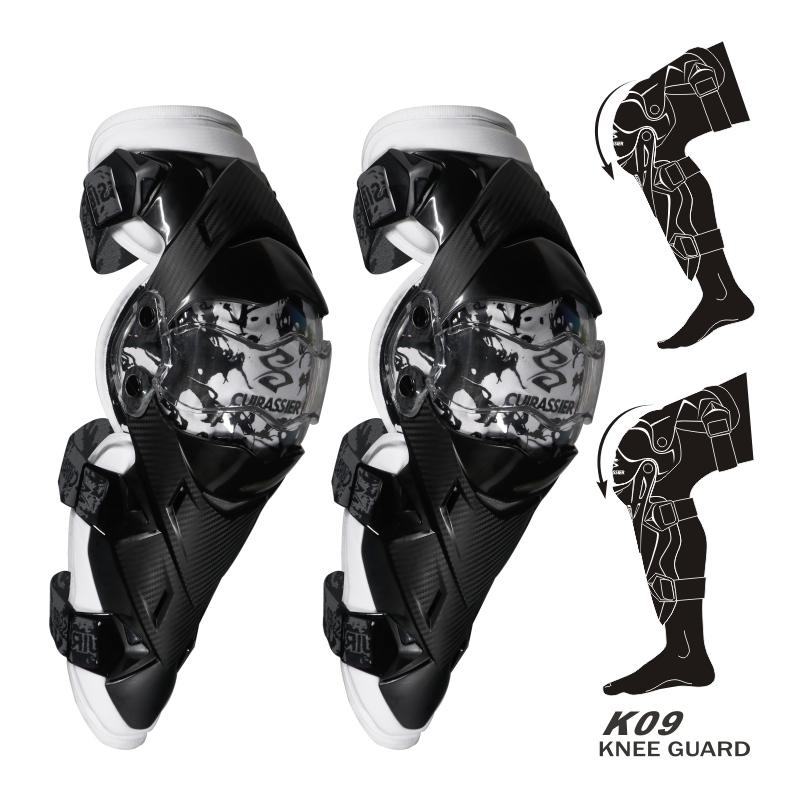 cuirassier K09 Белый Свободный размер защитные колпаки для мотоциклов kneepad protective kneepad protector mx off road
