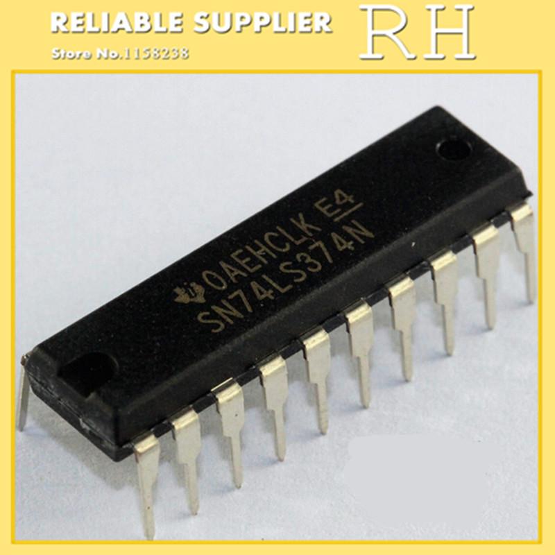 IC 100pcs lot sn74hc574dwr sn74hc574dw sop20 7 2mm d type flip flop