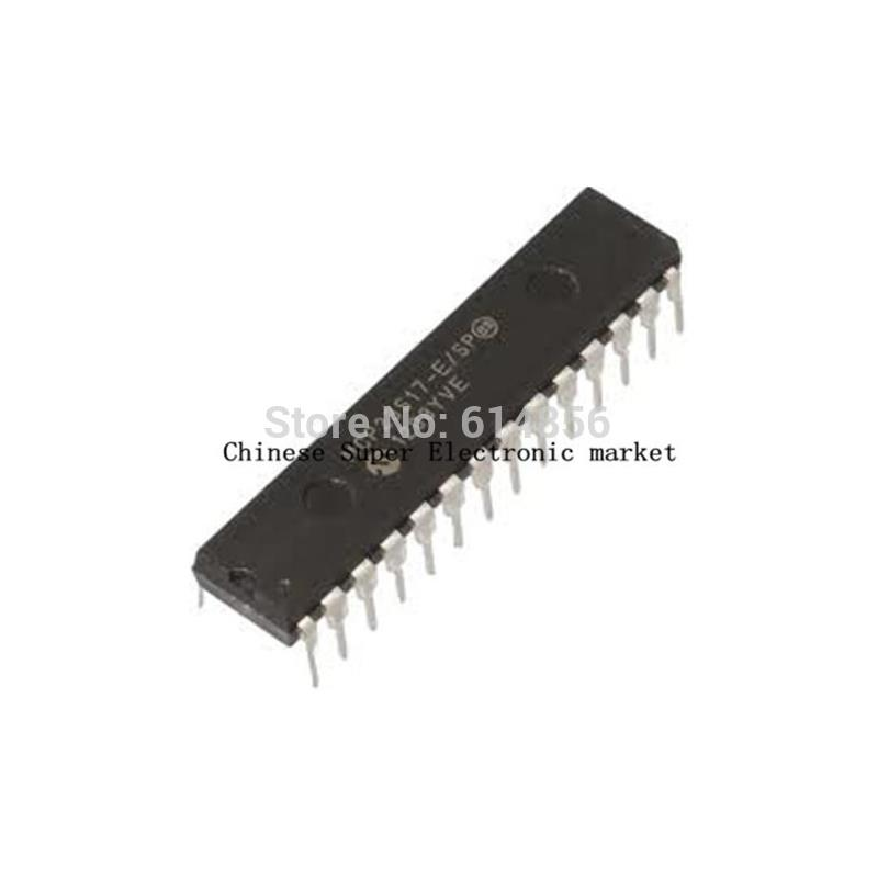 IC 10pcs mcp23s17 e sp mcp23s17 e s mcp23s17 e mcp23s17 dip 28 original with tracking numebr