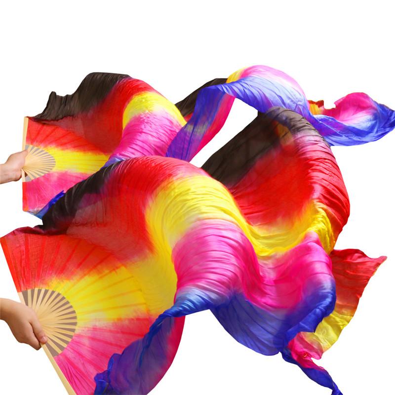 YI NA SHENG WU S шелковая вуаль для танец живота аутентичные шелковые вуали аксессуары для танцев живота королевский синий роза желтый красный