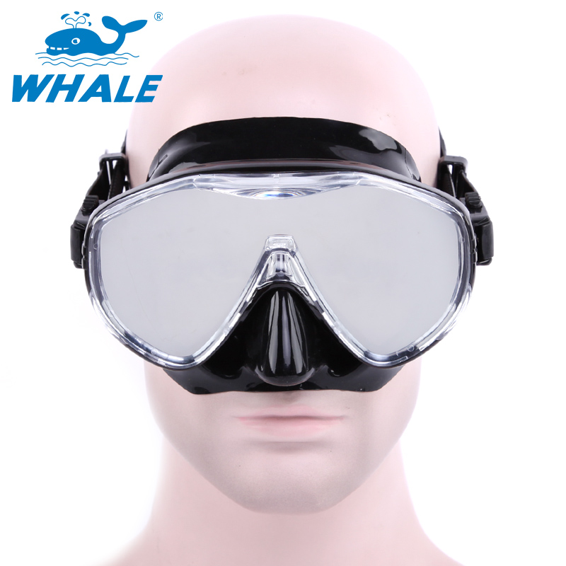 BENICE Чёрный цвет newest full dry diving mask snorkeling mask silicone scuba mask mascara buceo full face alien style whole dry mask for adult