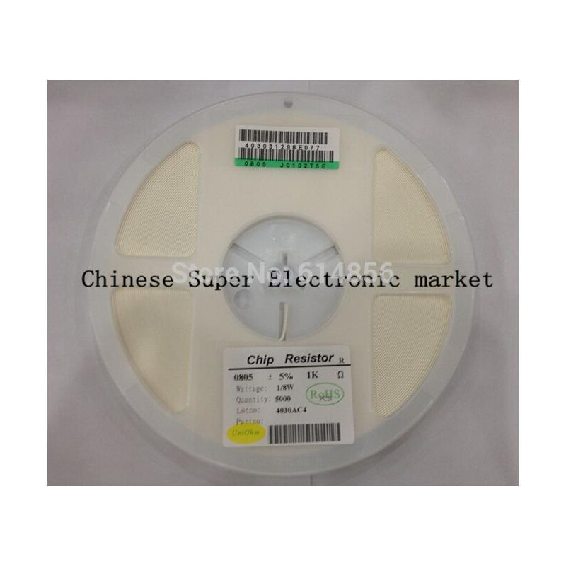 IC 5000pcs 0805 620r 620 ohm 5% smd resistor