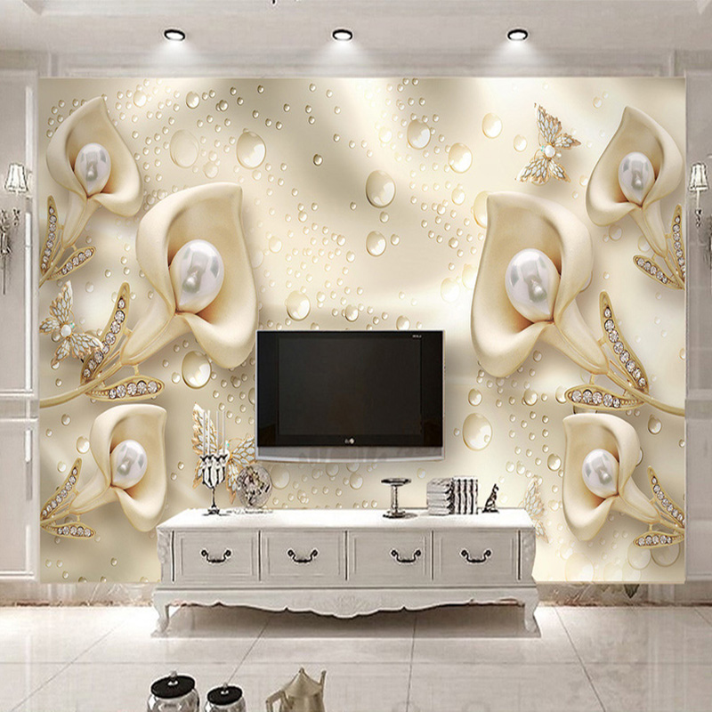 Colomac Смешанный цвет custom 3d murals seasons winter fir snow nature papel de parede hotel living room sofa tv wall bedroom stereoscopic wallpaper