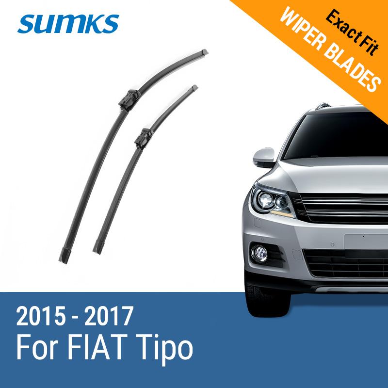 SUMKS wiper blades for fiat linea 26