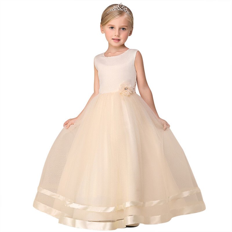 Жёлтый цвет 160 платья для девочек