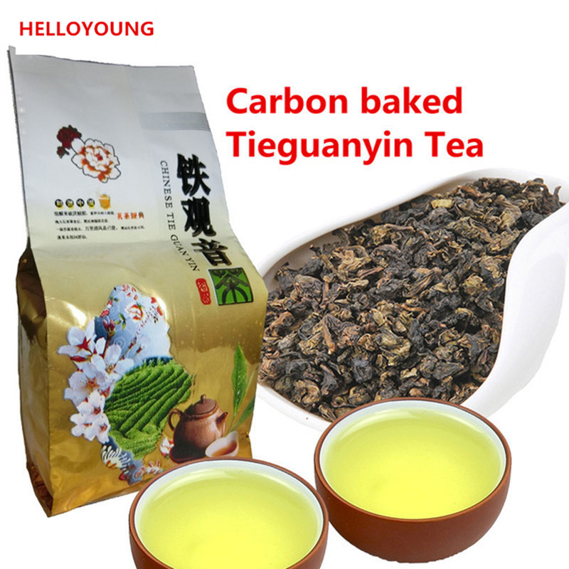 HelloYoung high quality chinese tieguanyin tea fresh natural carbon specaily tikuanyin oolong tea high cost effective tea 125g