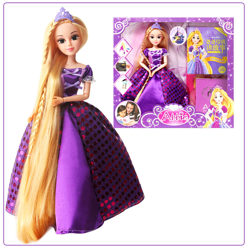 Abbie Classic Rapunzel Doll hot sale toys 45cm pelucia hello kitty dolls toys for children girl gift baby toys plush classic toys brinquedos valentine gifts