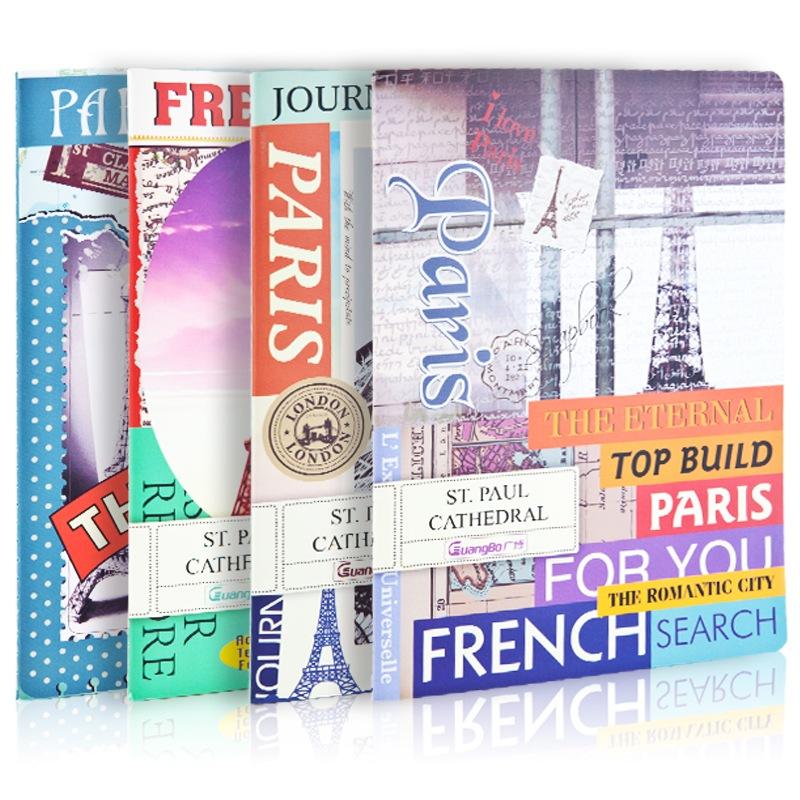 JD Коллекция дефолт 40 A5 широкий guangbo 5 настоящего устройство 60 a4 памятки книги дневник мягкие рукописи случайного цвета gbr0797