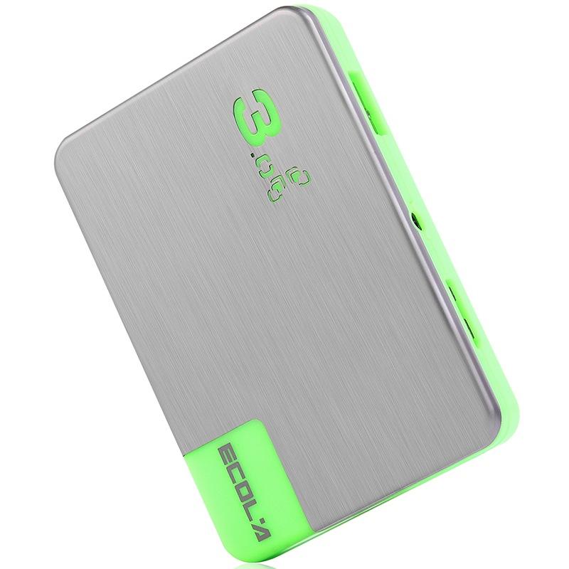 ECOLA Тонкий ультра высокой скорости с помощью адаптера питания зеленый USB 30 хаб joycollection