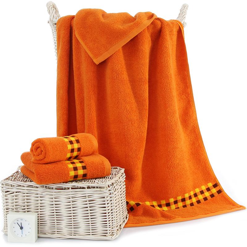 Sanli коричневый полотенце набор хлопок 1017235