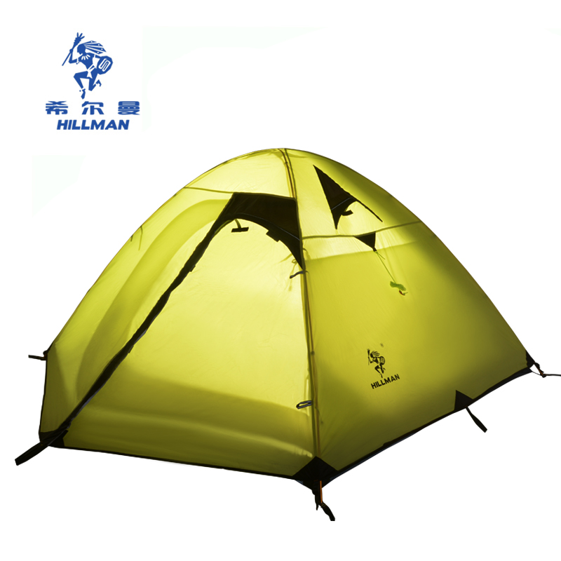 HILLMAN Зелёный цвет 3-4 kingcamp large 3 4 person tent tourist tent camping family tent for outdoor recreation automatic ultralight