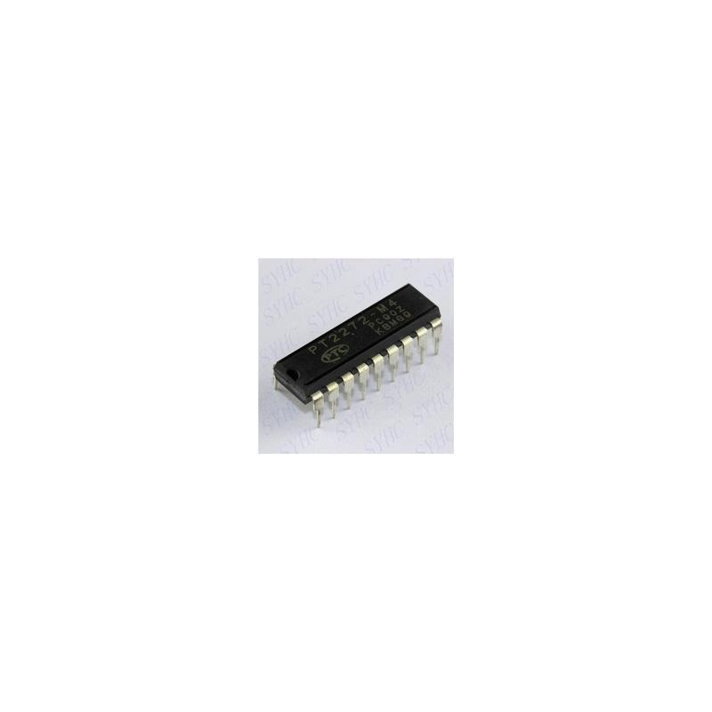 IC 10pcs free shipping pt2272 m4 pt2272 m4 dip 18 remote control decoder ic new original