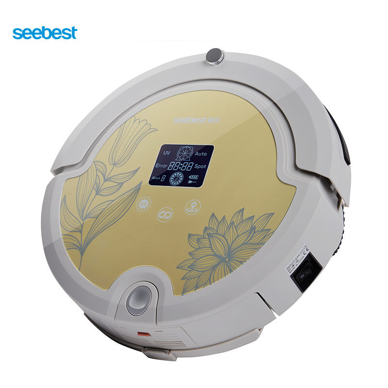 seebest Yellow Тип G original f1 robot vacuum cleaner accessories supply from the factory mop filter side brush and middle brush
