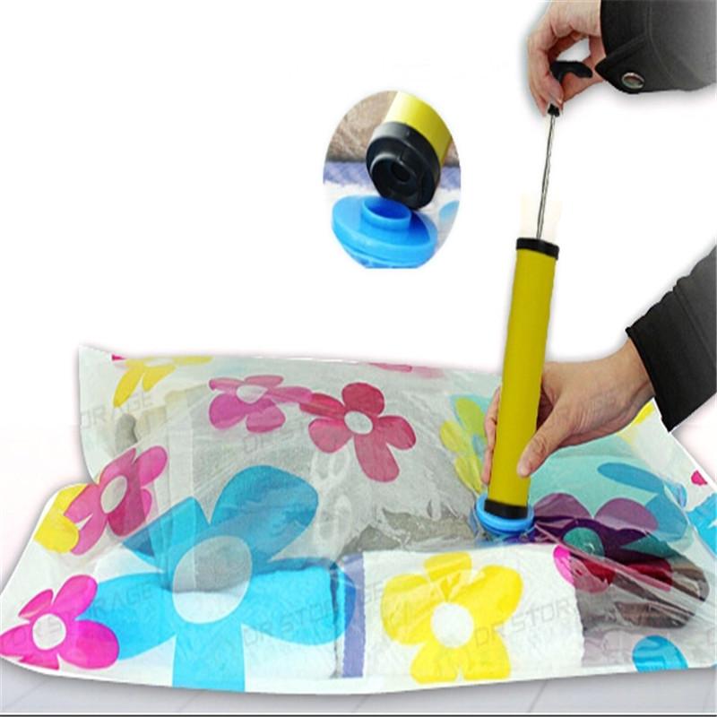NicerDicer yixiukeji saver экономии хранения сумку вакуум печать сжатый организатор сжатия сумка среднего размера 60x80cm
