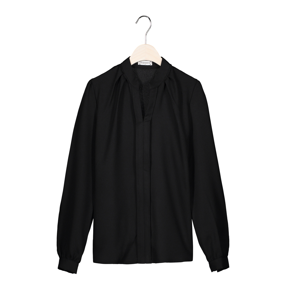 SPARSHINE Черный Номер М блузки elegancestyle блузка фреска