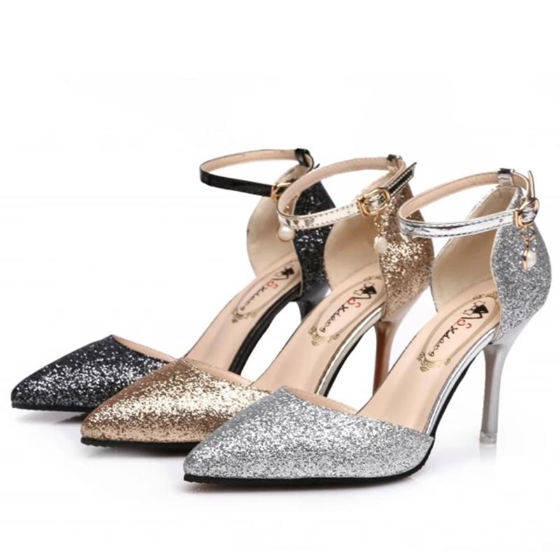 Банкетная обувь c ircelee Белый 40-41 39 - 40 фото
