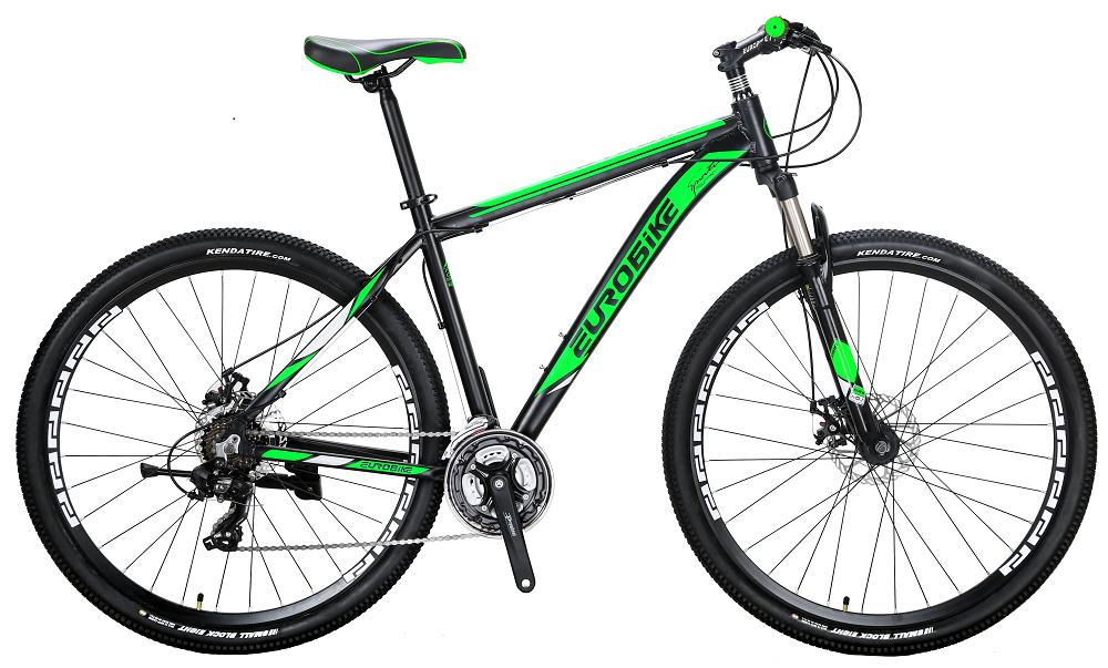 EUROBIKE зеленый Алюминиевый сплав behee 26 дюймы 21 скорость складной горный велосипед средняя ось двойной дисковый тормоз