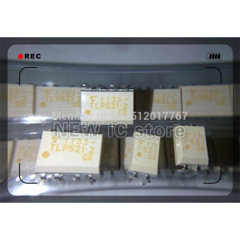 IC free shipping 100pcs new original tlp521 2 tlp521 2gb tlp521 2gr dip8 optocouplers 100