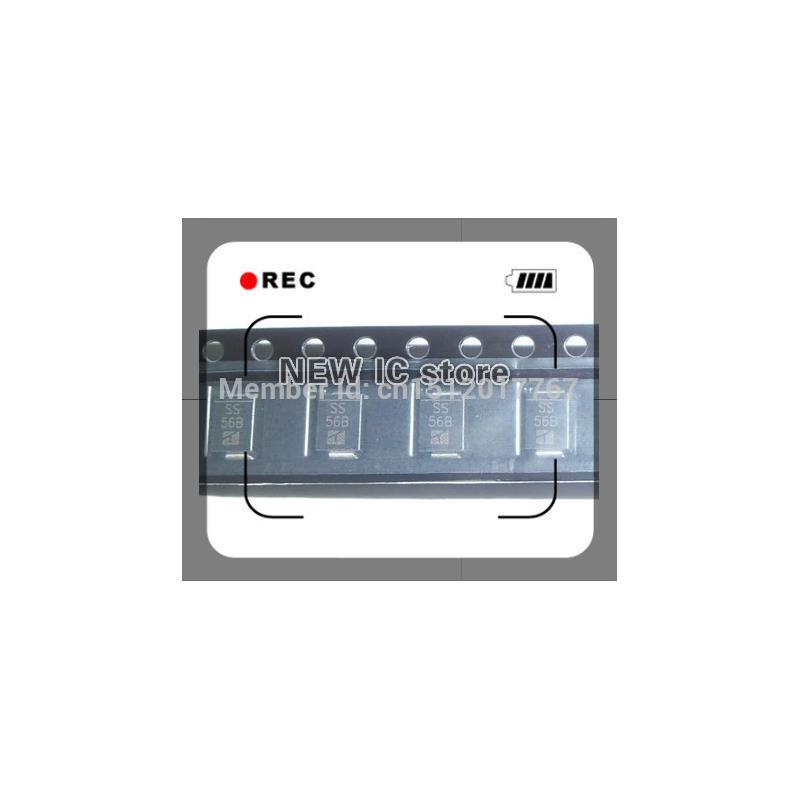 IC 100pcs lot ss26 sr2100 smb do 214aa smd schottky diodes