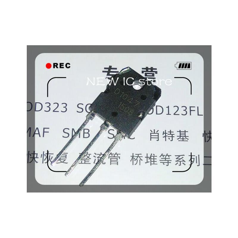 IC 5pcs lot 2sd1047 d1047 to 3p transistors new original free shipping