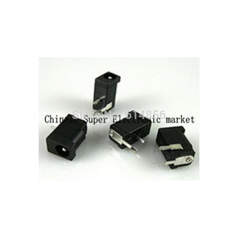 IC 100pcs 6 0mm x 3 5 mm jack dc male plug for power connector adapter plastic head