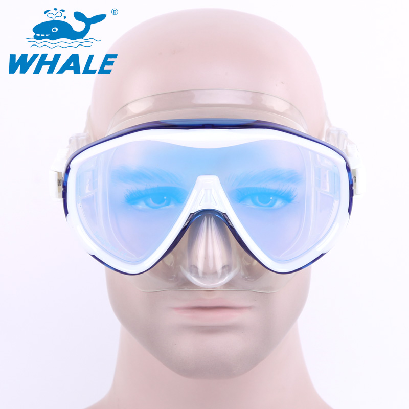 BENICE Синий newest full dry diving mask snorkeling mask silicone scuba mask mascara buceo full face alien style whole dry mask for adult