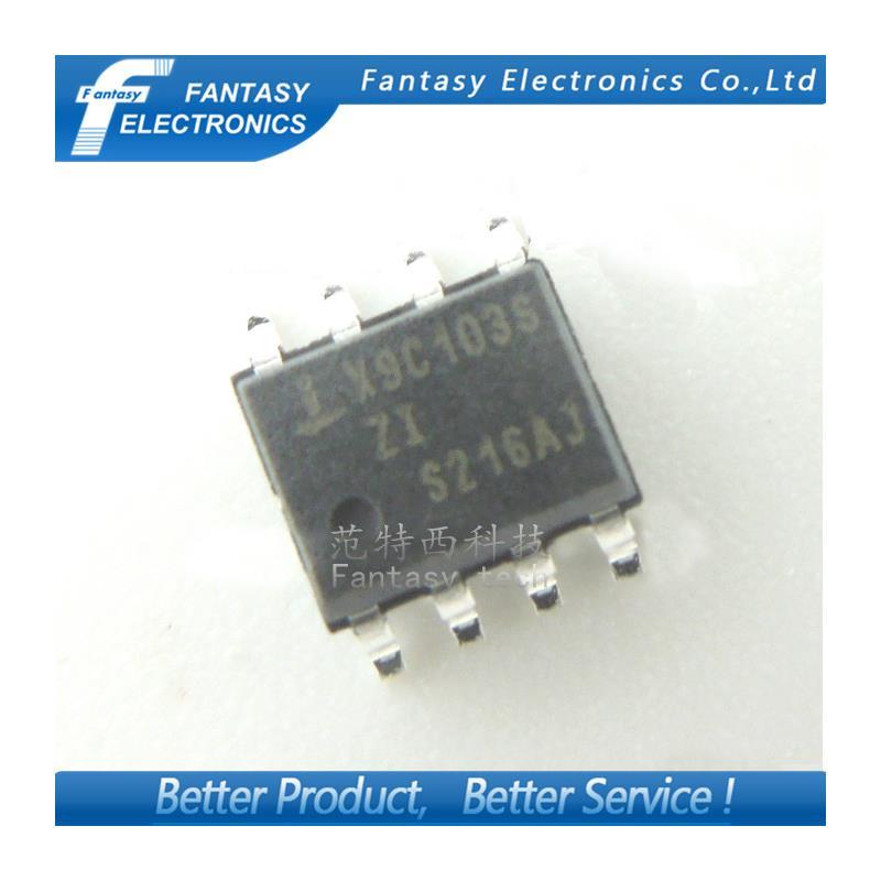 IC free shipping 5pcs x9c103s in stock